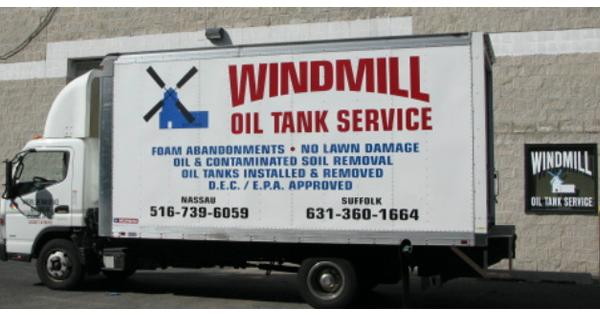 Services   Windmill Oil Tank Service